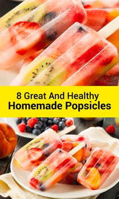 Here are some of my favorite ways to make healthy homemade popsicles using popsicles molds that your whole family will love! #SavingDinner #HomemadePopsicles #Popsicles #HealthyPopsicles #FruitPopsicles #Homemade