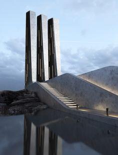 Recent work by visionary Ukrainian designer Roman Vlasov. More of his futuristic concepts here. More architecture inspiration View his portfolio