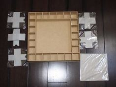 Beyond the page mdf advent calendar 13 x13 advent calendars empty christmas advent calendar diy do it yourself building craft kit solutioingenieria Images