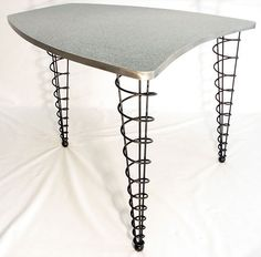 Projects Idea Of Steampunk Dining Table. Table Legs Modern Spiral Cone  eBay legs for sale Welding Pinterest Project ideas