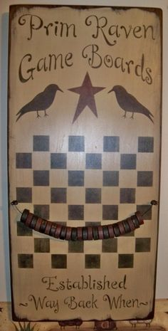 primitive game boards