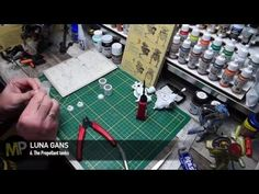 Building the Ma.K LUNA GANS part 6 [The Propellant Tanks] - YouTube