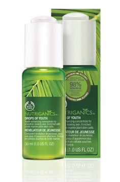 Nutriganics: The Body Shop's organic alternative to anti-ageing products