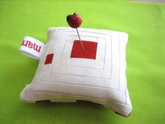 Simple Pincushion - Front by mamacjt, via Flickr
