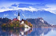 HI hostel in Lake Bled, Slovenia