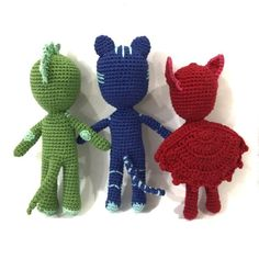 Your place to buy and sell all things handmade Crochet Toys, Free Crochet, Crochet Monsters, Crochet Dragon, Pj Mask, Stuffed Toys Patterns, Kylie Jenner, Lana, Free Pattern