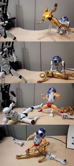 Don't make R2-D2 mad