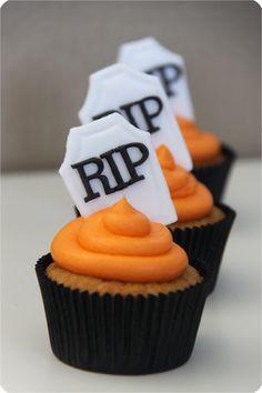 Azucarillos de Colores: Halloween Cupcakes