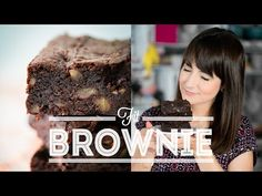 BROWNIE FIT (sem glúten e sem lactose) | RECEITAS FIT | Dani Noce - YouTube