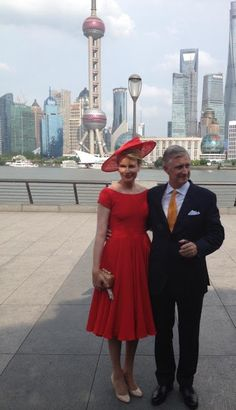 Queen Mathilde King Philippe visit China - Day-6