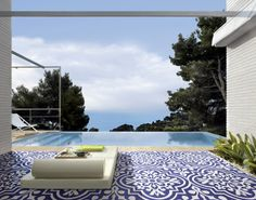 Mediterraneo Capri Bianco Blu by Cedir Ceramiche di Romagna #indoor #outdoor http://tegels.nl/1014/tegels/castel-bolognese-%28ra%29/cedir-ceramiche-di-romagna.html