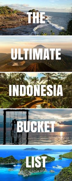 Planning a trip to Indo and can't decide what to include? Let us help you find your highlights from the mega-list of the best places to visit in Indonesia! What to do in Indonesia | What to do in Bali | Things to do in Indonesia | Things to do in Bali | Bali Tourist Attractions | Indonesia Tourist Attractions | Indonesia Travel | Indonesia Backpacking #Indonesia #Traveltips