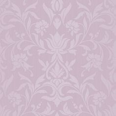 Colours Allure Dusky Pink Damask Wallpaper - B&Q for all your home and garden supplies and advice on all the latest DIY trends Stone Wallpaper, Diy Wallpaper, Dusky Pink Wallpaper, Lilac Bathroom, Textiles, Dusty Pink, Purple Lilac, Colorful Interiors, Wall Stickers
