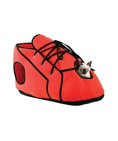 Another great find on #zulily! Red Shoe Cat Playhouse by Etna Products #zulilyfinds