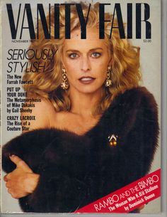 Magazine photos featuring Farrah Fawcett on the cover. Farrah Fawcett magazine cover photos, back issues and newstand editions. Farrah Fawcett, Vanity Fair Magazine, List Of Magazines, My First Crush, Perfect People, Lady Diana, Big Hair, Covergirl, Cover Photos