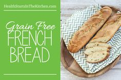 Grain Free French Bread by @healthstartsinthekitchen HealthStartsintheKitchen.com #paleo