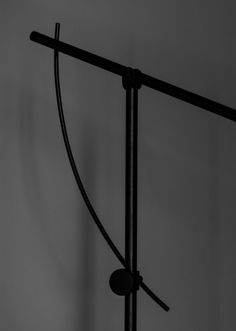 Balancer is a showstopper in both function and form. This floor lamp offers a stunning combination of light, geometry and style. Floor Lamp, Geometry, Northern Lights, Flooring, Lighting, Inspiration, Grey, Ash, Biblical Inspiration