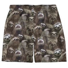 Sloths Weekend Shorts from Beloved Shirts $39.95