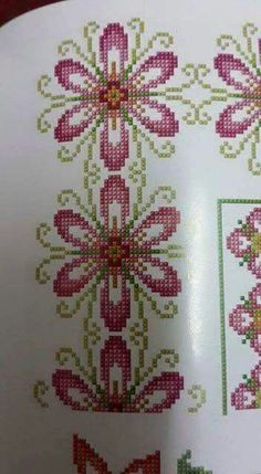 This Pin was discovered by Μον Cross Stitch Bird, Beaded Cross Stitch, Cross Stitch Borders, Cross Stitch Flowers, Cross Stitch Designs, Cross Stitching, Cross Stitch Embroidery, Embroidery Patterns, Hand Embroidery