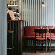 OX restaurant, Helsinki, Joanna Laajisto. Vía dezeen.