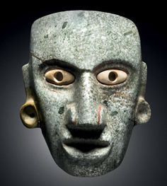 "amare-habeo: ""Chontal Maya culture, State ""Guerrero"", Mexico Late Preclassic period in the Maya lowlands, BC "" Mayan Mask, Arte Latina, Maya Civilization, Hispanic Culture, Cool Masks, Mesoamerican, Inca, African Masks, Native Art"