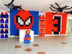 Homem aranha - Spiderman party