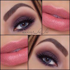 Daytime Plum Smokey Eye Makeup   Makeup by Lis Puerto Rico Makeup Artist and Beauty Blog