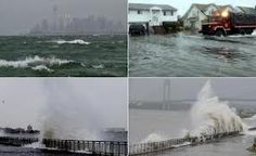 Flooding and Rogue Waves caused by Hurricane Sandy 10/29/12