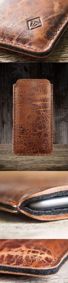 #iPhone #X #Ledertasche #Lederhülle #case #Tasche #Leder #leather #sleeve
