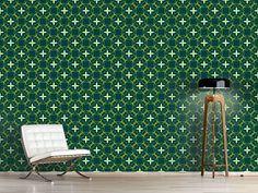 Design #Tapete Jasminas Garten Oriental, Design, Self Adhesive Wallpaper, Garten, Abstract