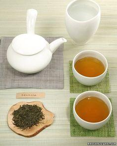 Sencha Green Tea - Martha Stewart Recipes