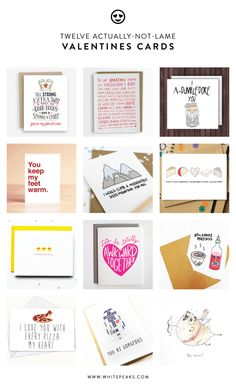 Valentines Day Cards (that aren't totally lame)