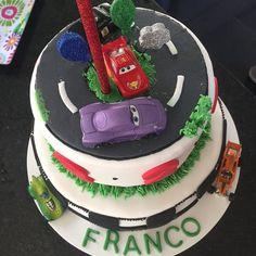 Espectacular la torta de @tortas.sanfer para Franquito