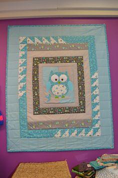 elizabeth did the owl kit!
