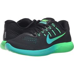 finest selection 1a322 89445 Nike Lunarglide 8 (Black Multicolor Real Teal Clear Jade) Women s.