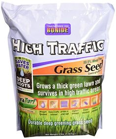 Bonide 60281 High Traffic Grass Seed, 3-Pound ** More infor at the link of image  : Gardening Supplies