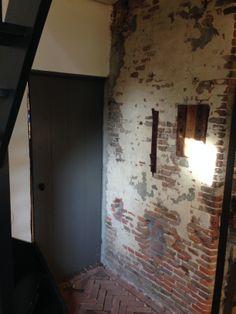 muur in achterste gedeelte