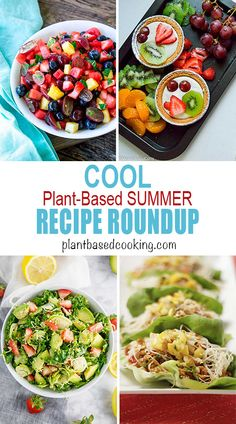 When the weather's hot, it's time to chill out with this roundup of 19 cooling plant-based summer recipes. Whole Foods, Whole Food Recipes, Diet Recipes, Diabetic Recipes, Recipes Dinner, Vegan Recipes, Plant Based Eating, Plant Based Diet, Plant Based Recipes