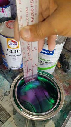Chameleon 7 Tone Paint Interestingasfuck Changing Paint Color Changing Paint Chameleon