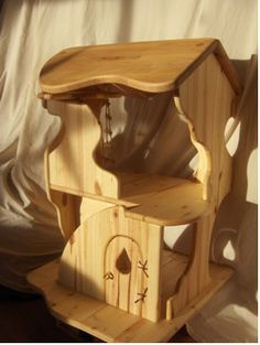 Waldorf style doll house