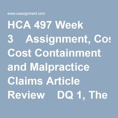 Health article review