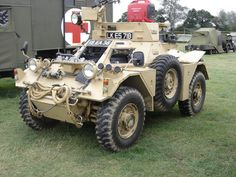 https://flic.kr/p/8sNVtH | Ferret Armoured Car at Headcorn Combined Ops Show 15th August 2010
