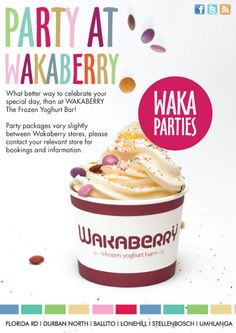 WAKABERRY parties