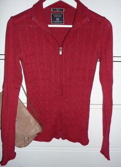 Kupuj mé předměty na #vinted http://www.vinted.cz/damske-obleceni/s-dlouhymi-rukavy/15432265-sleva-cerveny-svetr-na-zip