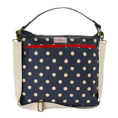 Button Spot Tote Changing Bag
