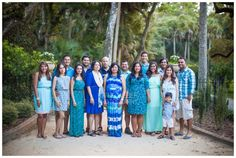 How to dress for family sessions--Pick a color and…GO.