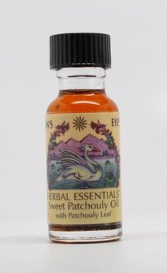 Sweet Patchouli - Sun's Eye Herbal Essential Oils - 1/2 Ounce Bottle by Sun's Eye Herbal Essential Oils. $8.29. Sun's Eye Oil made from aromatic herbs, blossoms, leaves, spices, woods, resins and essential oils.. Sweet Patchouly with patchouly leaf - patchouly with a pleasing vanilla overtone.. 1/2 ounce bottle of high quality Sun's Eye brand oil.. Sweet Patchouly with patchouly leaf - patchouly with a pleasing vanilla overtone.1/2 ounce bottle of high quality Sun's Eye brand...