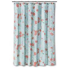 Shower Curtain Floral Birds Blue - Threshold™ already viewed