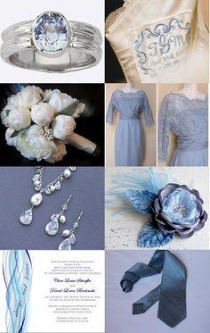 Winter wedding treasury inspiration board -- Pinned with TreasuryPin.com