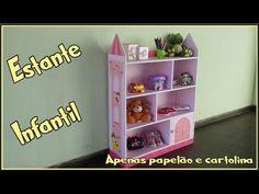 Estante infantil toda em papelão  -  Menina e Menino - YouTube